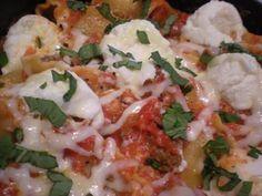 My Sisteru0027s Kitchen: Skillet Lasagna