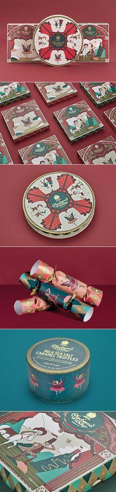 We Love This Whimsical Packaging for Charbonnel et Walker — The Dieline | Packaging & Branding Design & Innovation News