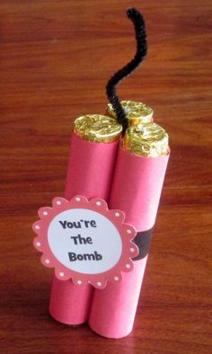 Is your LOVE the BOMB?! | Sweetest Day Candy Gift Ideas - Cute and Fun Gifts For Girls & Boys by DIY Ready at diyready.com/...