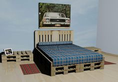 cama de pallet - Pesquisa Google