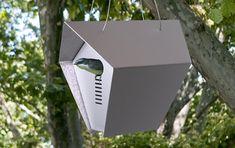 Hepper Roost Birdhouse : Stylish Mini Modern Bird House
