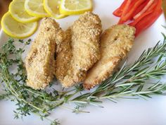 Almond-Flax Crusted Chicken-recipe by Dr. Mark Hyman-featured on Dr. Oz