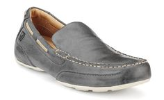 Navigator Venetian (new fav. color in a shoe) matching wit 796-Grey woven leather belt