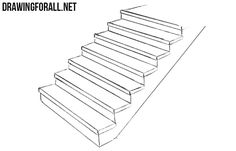 Stair drawings staircase drawing step stair drawings in revit Basic Drawing, Body Drawing, House Drawing, Drawing Lessons, Step By Step Drawing, Drawing Art, Pass Away Quotes, Staircase Drawing, How To Draw Stairs
