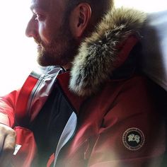 The TransAntarcticSolo has officially started.  #canadagoose #fw17 #thanksgivingday