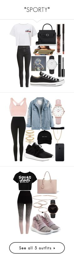 """*SPORTY*"" by plaraa on Polyvore featuring moda, CLUSE, Miss Selfridge, H&M, Converse, Alexander Wang, Chanel, Vanessa Mooney, adidas y Topshop"