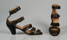 Sandals, Leather, American 1948.
