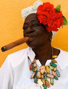 Cuban Cigar / Photo by: DEVAUGHN HUGHSON