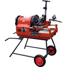 Northern Industrial Tools 4in. Electric Pipe Threader with Wheel Kit
