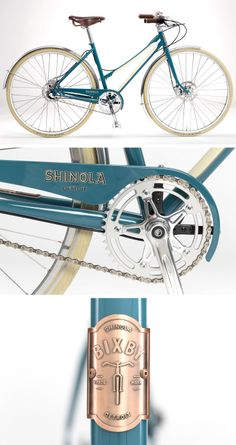 Beach cruiser bicycle   Shinola Bixby in teal