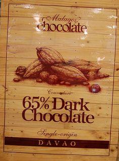 65% Dark Chocolate, single origin, Malagos, Davao