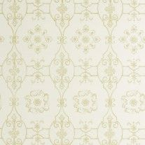 Sherle Wagner Delft Wallpaper in Sage