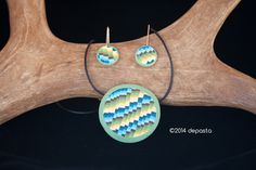 #polymerclay #necklace #summer