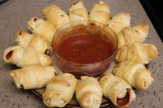 Weight Watchers Croissant Pizza RollUps! 4 PP+