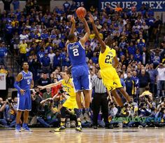 Aaron Harrison Vs Michigan