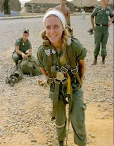 """Catherine Leroy (1945-7/8/2006) was brought up in a convent in Paris. She was moved by images of war she had seen in Paris Match, & decided she wanted to travel to Vietnam to """"give war a human face."""" At 21 she booked a 1-way ticket to Laos with just 1 Leica M2 & $100 in her pocket. On arrival in Saigon she met the photographer Horst Faas, bureau chief of the AP. Her most famous photo, Corpsman In Anguish, (1967) was one of 3 taken in quick succession portraying U.S. Navy Corpsman Vernon…"""