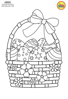 Easter coloring pages - Uskrs bojanke za djecu - Free printables, Easter bunny, eggs, chicks and more on BonTon TV - Coloring books Easter Coloring Pages, Cute Coloring Pages, Animal Coloring Pages, Free Printable Coloring Pages, Coloring Books, Easter Art, Easter Crafts, Easter Printables, Free Printables