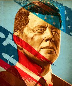 Tavis Coburn -  JFK for the cover of time ::: www.dutchuncle.co.uk/tavis-coburn-images