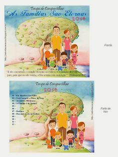 """Capa para CD do Tempo de Compartilhar - """"As Famílias São Eternas"""" 2014"""