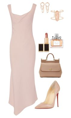 Untitled #2562 by janglin725 on Polyvore featuring polyvore fashion style Maison Margiela Christian Louboutin Dolce&Gabbana Kendra Scott Tom Ford Christian Dior clothing