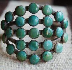 Turquoise Bracelet by Greg Thorne