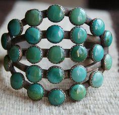 Turquoise Bracelet by Greg Thorne
