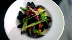Sweet and Sour Steamed Mussels with Pak Choi – Mussel Inn, Scotland | EatNorth
