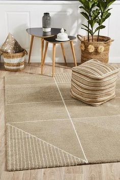 The super soft yet dense pile of these tribal and contemporary inspired Broadway rugs feature native designs coloured in soft comforting modern hues. These rugs are the ideal choice to add the warmth of a casual rug to modern and comtemporary homes. Natural Flooring, Natural Rug, Native Design, Transitional Rugs, Rustic Rugs, Modern Interior Design, Interior Designing, Modern Rugs, Small Rugs