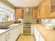 The bright and modern kitchen at 45 Eskin Street Keswick