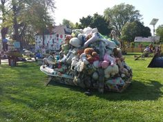 Heidelberg Project by Tyree Guyton in Detroit