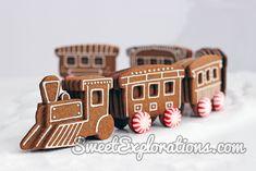 Gingerbread Train Recipe & Tutorial
