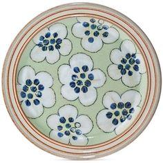 Denby Dinnerware Heritage Orchard Accent Salad Plate (\u20ac13) ❤ liked on Polyvore  sc 1 st  Pinterest & 8 Denby Langley China Mayflower dessert Plates Brown Orange Stylized ...