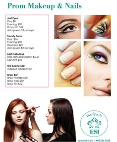 Our monthly and seasonal specials are perfect for anyone looking for a discount spa services Lash Tint, Brow Bar, Spa Deals, Spa Services, Makeup Application, Prom Makeup, Eyelashes, Brows, Nails