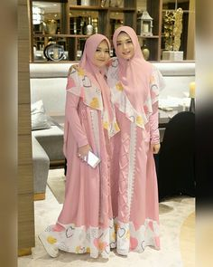 Kebaya Dress, Hijab Dress, I Dress, Kebaya Muslim, Muslim Dress, Moslem Fashion, Muslim Beauty, Casual Hijab Outfit, Islamic Clothing