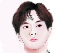 BTS JIN manwha versionThis is my first attempt to do a digital artwork of a person. Bts Jin, Artsy Fartsy, Seokjin, Behance, Gallery, Artwork, Check, Anime, Color