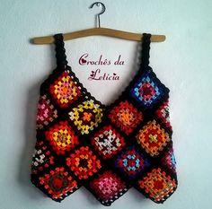 Fabulous Crochet a Little Black Crochet Dress Ideas. Georgeous Crochet a Little Black Crochet Dress Ideas. Black Crochet Dress, Crochet Blouse, Crochet Poncho, Crochet Granny, Crochet Baby, Knit Crochet, Crochet Square Patterns, Knit Patterns, Crochet Woman