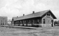 Chicago & North Western depot at Tracy, Minnesota built in 1897.