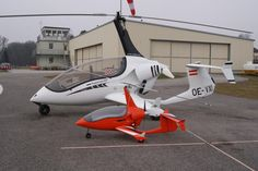 ArrowCopter AC20 with it RC counterpart.