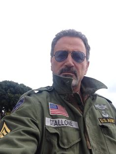 F Frank Stallone, Sylvester Stallone, Che Guevara, Pilot, Mens Sunglasses, Football, Fashion, Soccer, Moda