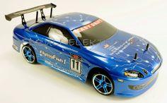 RC Tourenwagen HSP luftgekühlt Drift Car Bad Boy 4WD 2,4GHz drift RTR M1:10 NEU