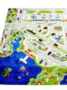 And this city version of the play rug is awesome too! VI Interactive Play Rug - Mini City Large