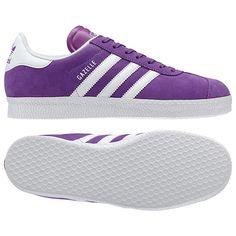various colors ffc05 3b65f adidas Gazelle 2.0 Shoes - Lab PurpleWhite (G60432) Walk A Mile,
