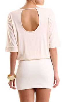 COLCCI OFF WHITE DRESS