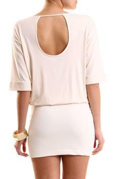 COLCCI OFF WHITE DRESS