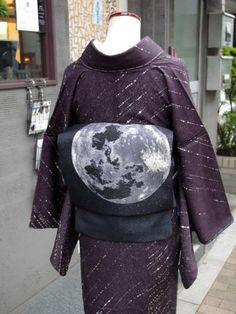 ルミロック名古屋帯「月面」 - メンズレディース浴衣・着物ネット通販-キモノスイッチ