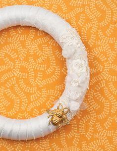 Beautiful  Ways to Recycle Your Wedding Dress
