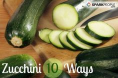 10 different ways to cook zucchini.