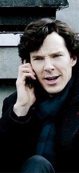 """Shhhhhhhhhh."" Sherlock."