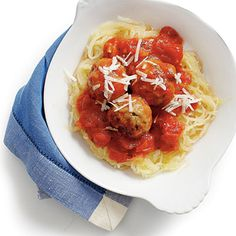 Replace regular spaghetti with spaghetti squash for a healthier but still kid-friendly update on the classic dish.