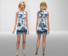 Sims Fans: Anna Field Dress by Antoine20